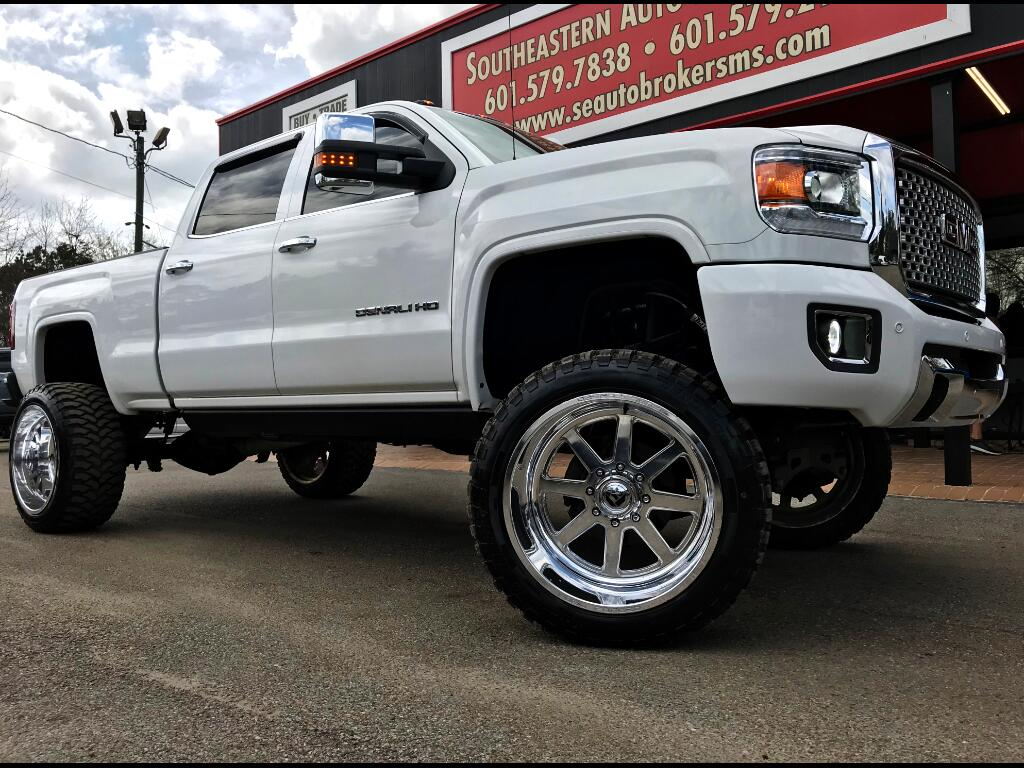 2015 GMC Sierra 2500HD DENALI CREW CAB 4WD CUSTOM LIFTED DPF DELETED