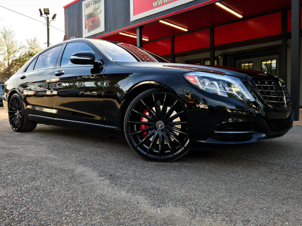 2015 Mercedes-Benz S-Class S550 W/ AMG SPORT PACKAGE PANO ROOF 22'' WHEELS