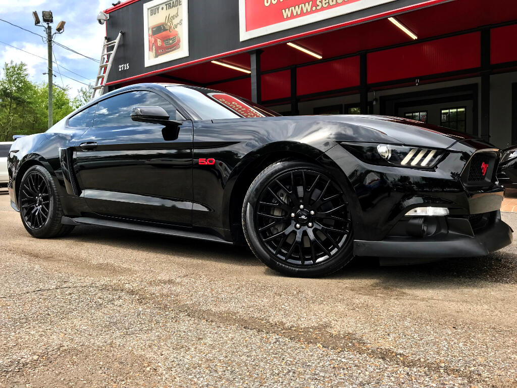2015 Ford Mustang GT PREMIUM COUPE SUPERCHARGED