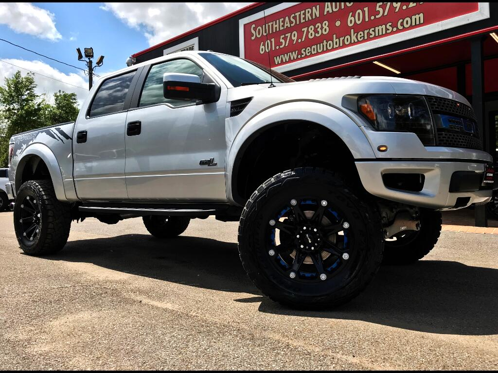 2012 Ford F-150 SVT RAPTOR SUPERCREW 5.5-FT. BED 4WD CUSTOM LIFTED