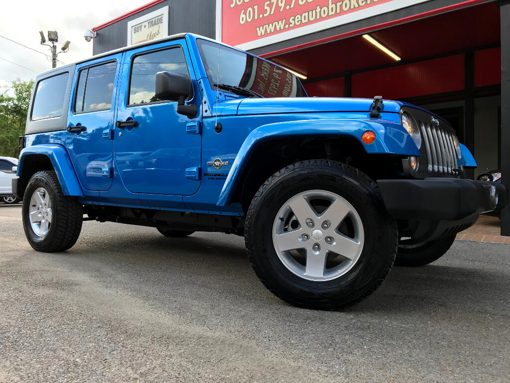 2014 Jeep Wrangler UNLIMITED SPORT 4WD OSCAR MIKE EDITION