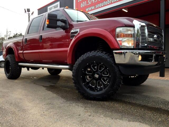 2008 Ford F-250 SD LARIAT CREW CAB 4WD CUSTOM LIFTED SOUTHERN COMFORT
