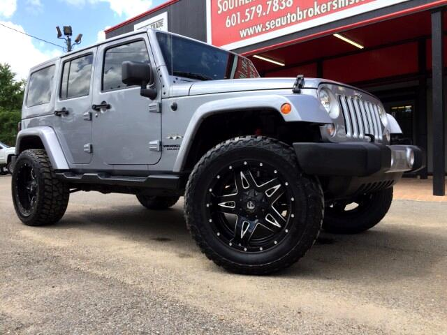 2016 Jeep Wrangler WRANGLER SAHARA UNLIMITED CUSTOM LIFTED