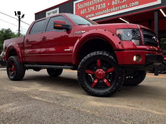 2014 Ford F-150 FX4 CREW CAB SHORT BED 4WD CUSTOM LIFTED