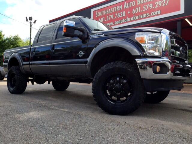 2013 Ford F-250 SD LARIAT CREW CAB SHORT BED 4WD CUSTOM LIFTED