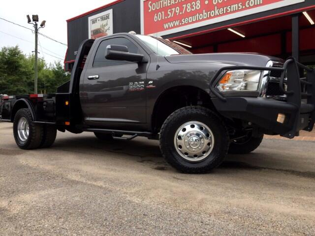 2014 RAM 3500 SLT 4WD LEVELED WITH AISIN TRANSMISSION AND REAR E