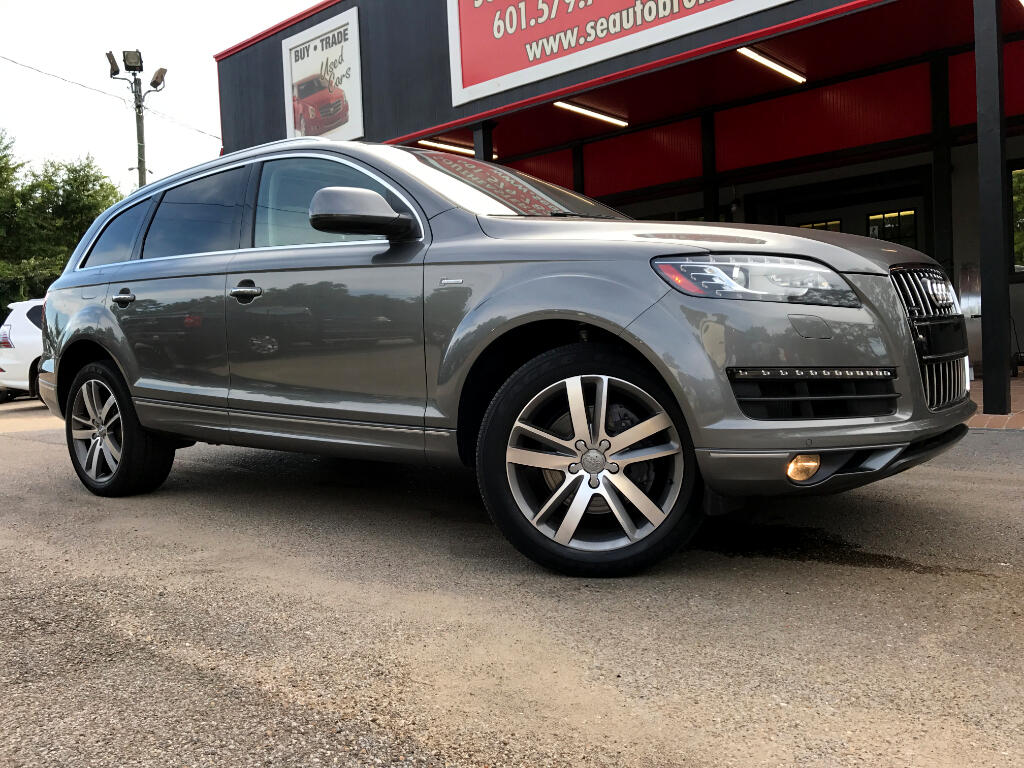 used audi q7 for sale in jackson ms 1 652 cars from 5 995. Black Bedroom Furniture Sets. Home Design Ideas