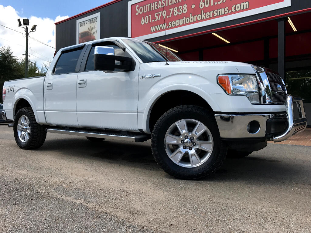 2011 Ford F-150 LARIAT CREW CAB SHORT BED 4WD LEVELED