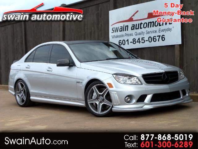 2011 Mercedes-Benz C-Class 4dr Sdn C63 AMG RWD