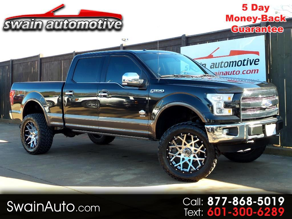 2015 Ford F-150 King Ranch 4WD SuperCrew 6.5' Box