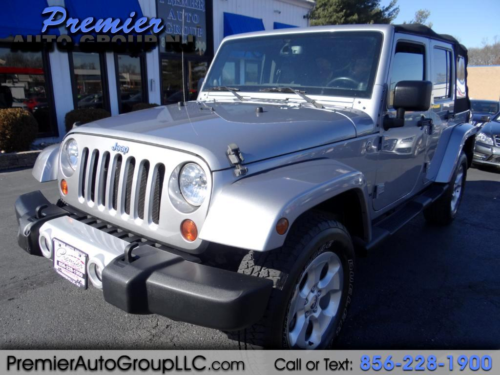 2013 Jeep Wrangler Unlimited Sahara 4WD