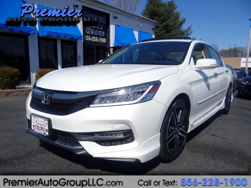 2017 Honda Accord Touring V6 Sedan 6-Spd AT