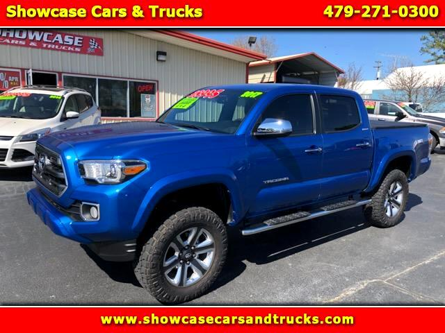 2017 Toyota Tacoma Limited Double Cab V6 6AT 4WD