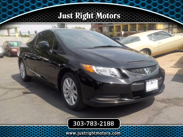 2012 Honda Civic EX Coupe 5-Speed AT