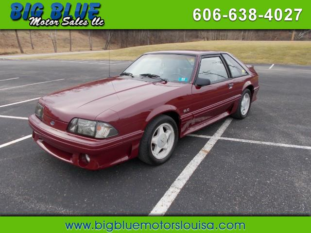 1989 Ford Mustang GT hatchback