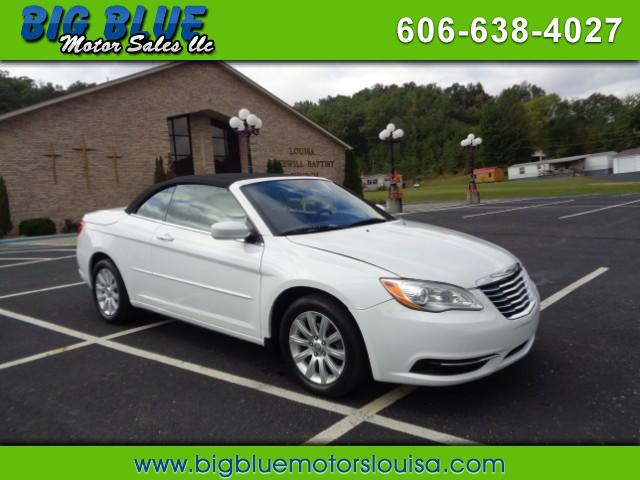 Used 2013 Chrysler 200 Touring Convertible For Sale In