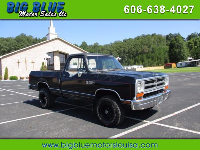 1989 Dodge W150 Reg. Cab 6.5-ft. Bed 4WD