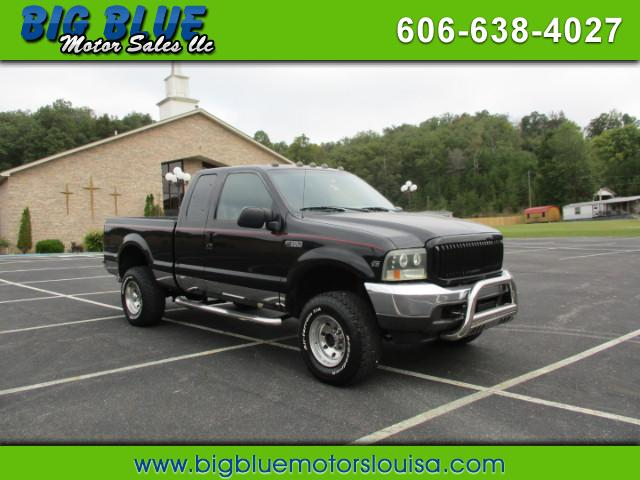 2001 Ford F-350 SD XL SuperCab Short Bed 4WD