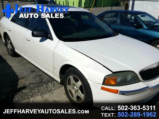 2001 Lincoln LS V6 Automatic