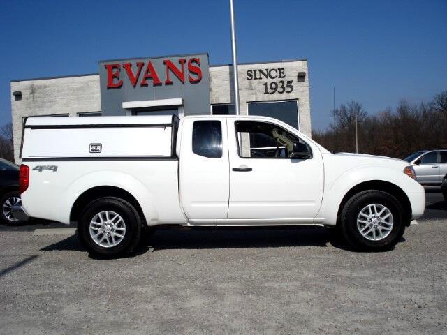 2015 Nissan Frontier S Crew Cab 5AT 4WD