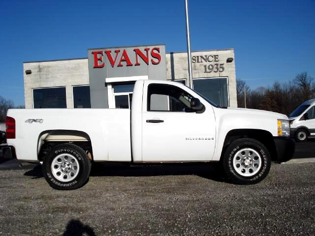 used 2008 chevrolet silverado 1500 work truck short box 4wd for sale in pittsburg ks 66762 evans. Black Bedroom Furniture Sets. Home Design Ideas