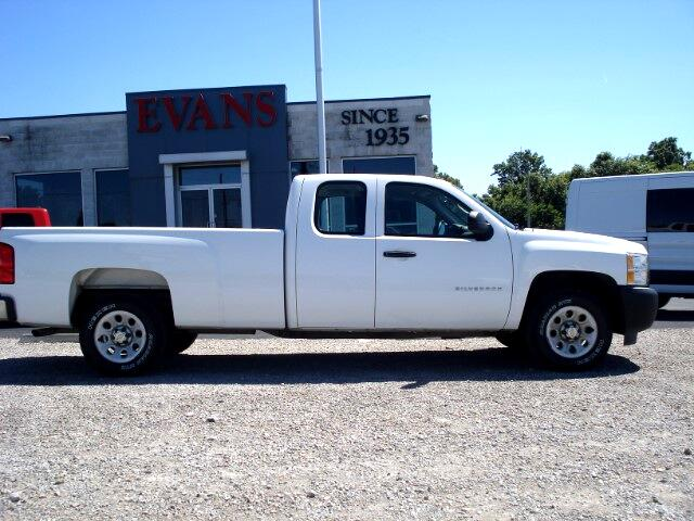 2010 Chevrolet Silverado 1500 Work Truck Ext. Cab Long Box 2WD