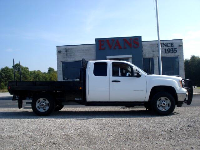 2011 GMC Sierra 2500HD Work Truck Ext. Cab 4WD