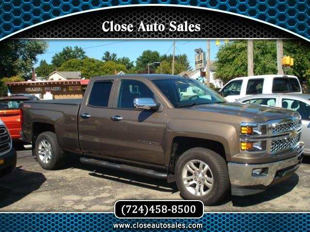 used 2014 chevrolet silverado 1500 2lt double cab 4wd for. Black Bedroom Furniture Sets. Home Design Ideas