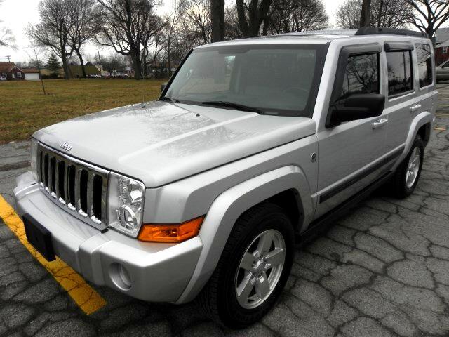 used 2007 jeep commander sport 4wd for sale in wyandotte mi 48192 vizachero motors. Black Bedroom Furniture Sets. Home Design Ideas