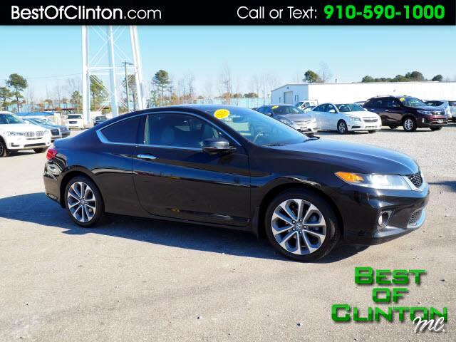 2014 Honda Accord EX-L V6 Coupe MT