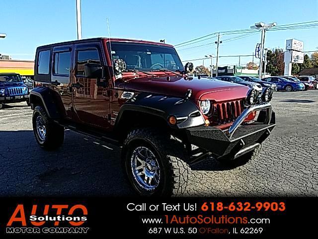 2009 Jeep Wrangler Unlimited Sahara 4WD