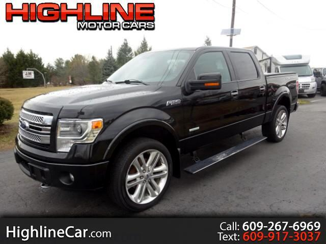 2013 Ford F-150 Limited SuperCrew 5.5-ft Bed 4WD