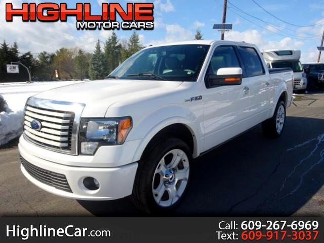 2011 Ford F-150 Lariat Limited 6.5-ft. Bed 4WD