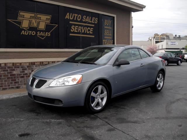 2007 Pontiac G6 HAVE SOME FUN IN THE SUN THIS SUMMER THIS 2007 G6 GT CONVERTIBLE COMES EQUIPPED WIT