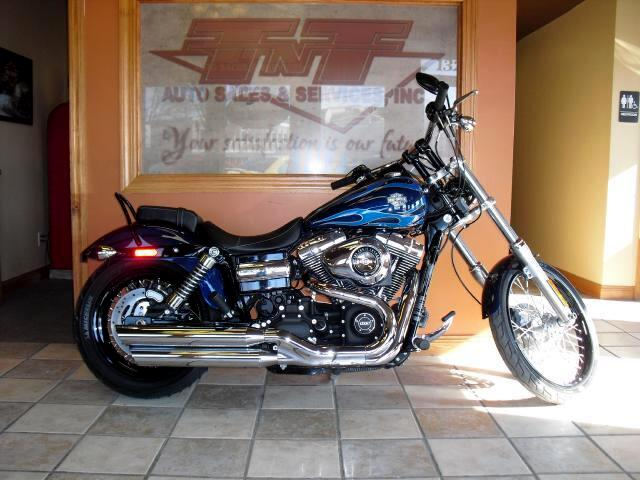2012 Harley-Davidson FXDWG GREAT LOOKING BIKE THIS 2012 DYNA WIDE GLIDE COMES WITH THE FUEL INJECTE