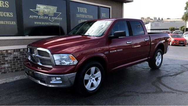 "2011 RAM 1500 Big Horn 4x4 Crew Cab 5'7"" Box"