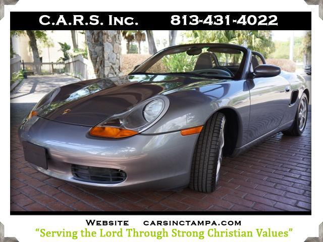 2002 Porsche Boxster 2dr Roadster with Tiptronic