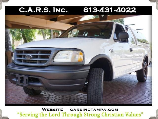 2002 Ford F-150 Custom SuperCab Long Bed 4WD