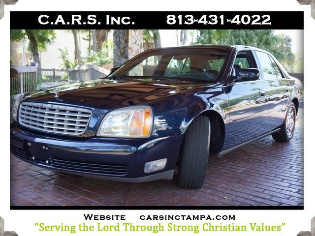 2002 Cadillac DeVille 4dr Sdn w/Livery Pkg