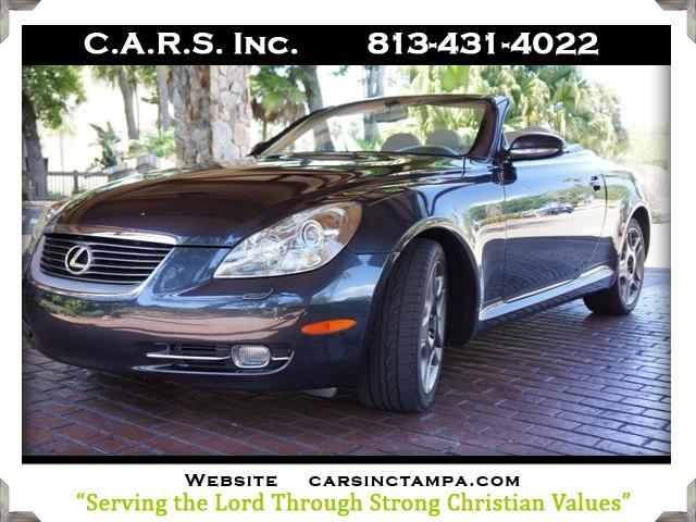 2007 Lexus SC 430 Retractable Hardtop Convertible