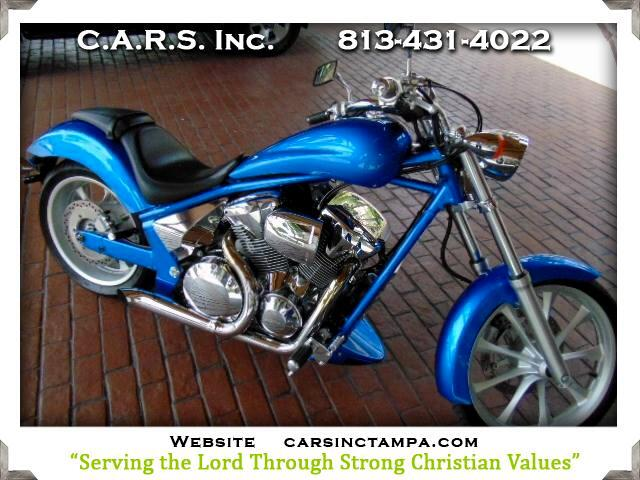 2010 Honda VT1300CX Chrome and LED Lighted