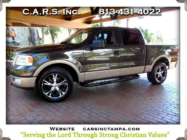 2005 Ford F-150 Lariat SuperCrew 2WD