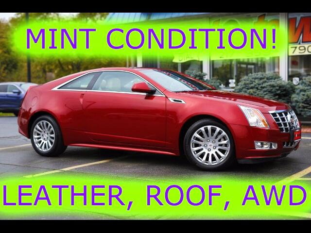 2014 Cadillac CTS Coupe Performance AWD