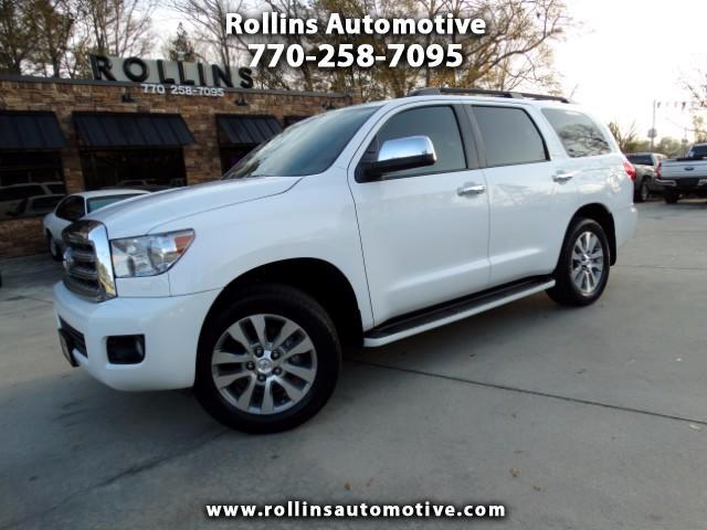 2014 Toyota Sequoia Limited with Navigation DVD