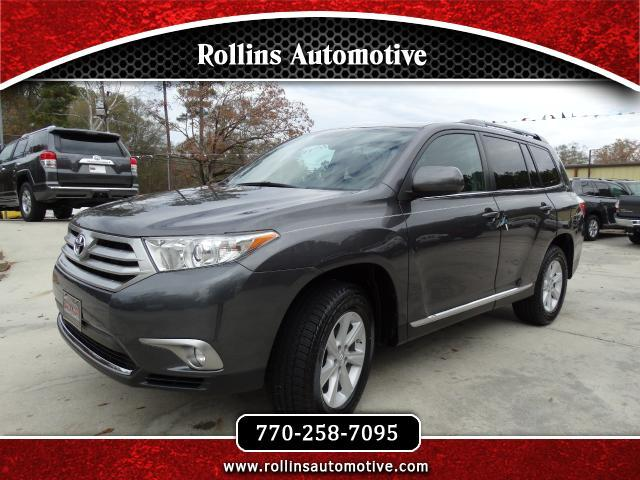 2013 Toyota Highlander SE V6 Leather Sunroof Power Lift Gate