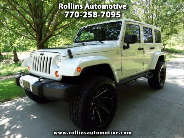 2012 Jeep Wrangler Unlimited Artic Edition