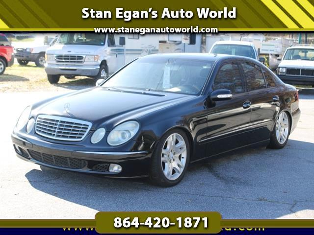 2003 Mercedes-Benz E-Class E500 4dr Sedan