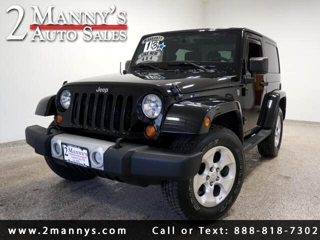 2013 Jeep Wrangler Sahara 4WD