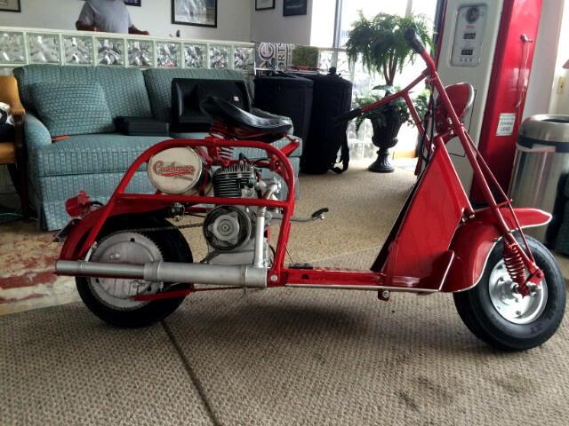 1957 Custom Motorcycle Highlander