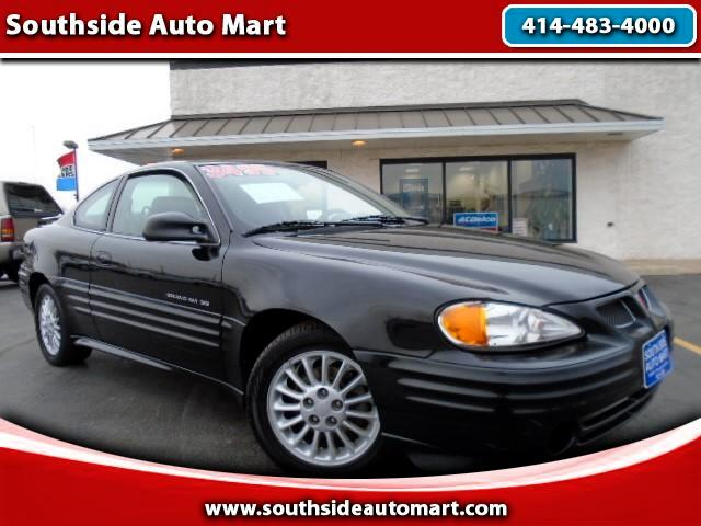 2001 Pontiac Grand Am SE1 coupe